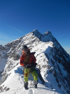 Kletterwald München Teammitglied Sven am Berg