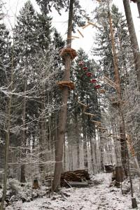 Kletterwald München Sturmschaden