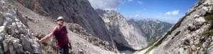 Kletterwald München Teammitglied Bernd unterwegs am Fels