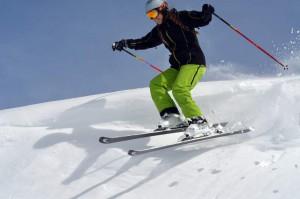 Leni beim Skifahren 2