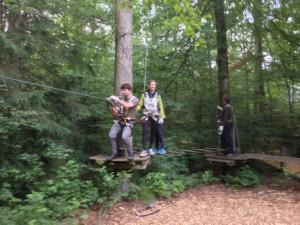 Kletterwald-Muenchen-Einweisungsparcours