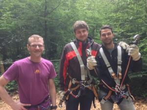 Kletterwald-Muenchen-mit Daniel, Sebastian-und-Bernd